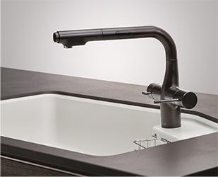 ハンドセンサー付き水栓一体型浄水器